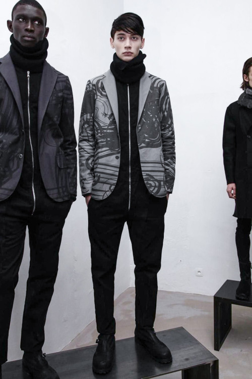 No Editions, Menswear, Fall Winter, Paris, 2014