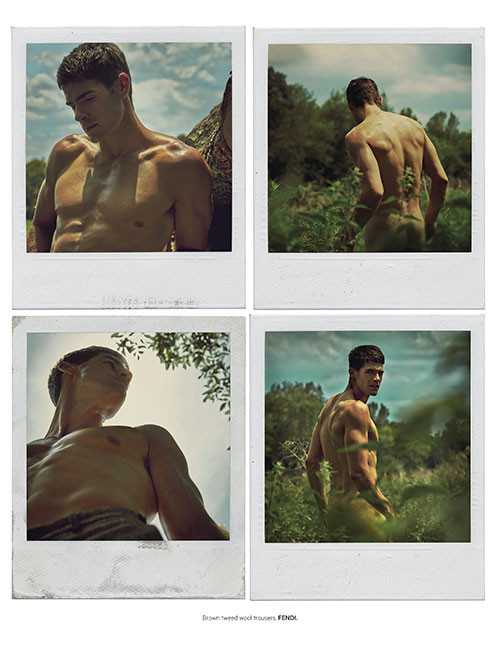 Chad White for L'Officiel Hommes Singapore