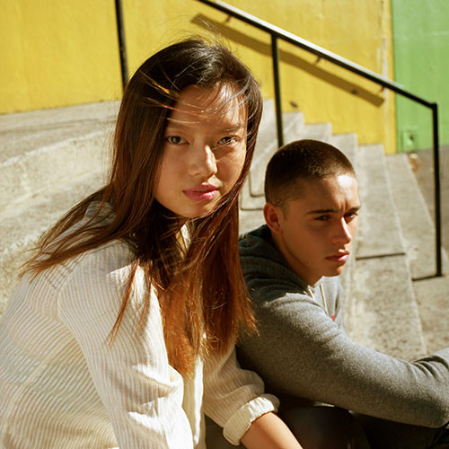Cindy Yan and Maverick by Nicholas Waickman