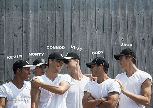 Cody, Connor, Jack, Kevin, Monty, Veit, Walter, & Will for Risbel by Rick Day