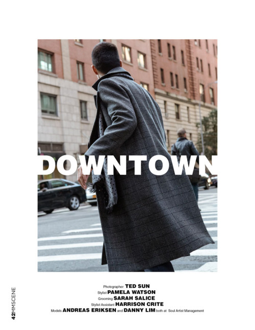 Male Model Scene: Downtown by Ted Sun