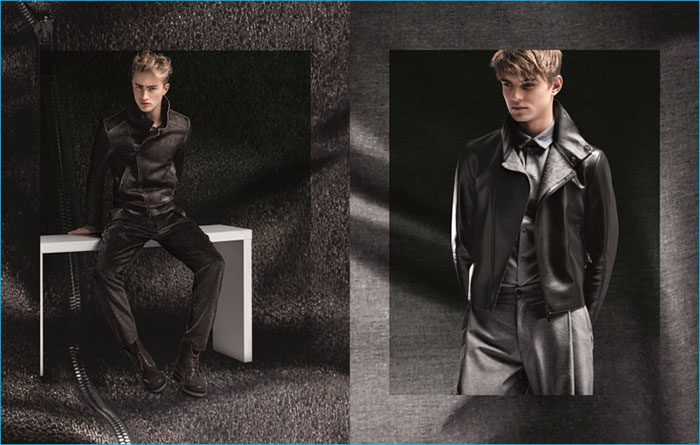 Dylan Verlooy for Emporio Armani Fall Winter Catalogue