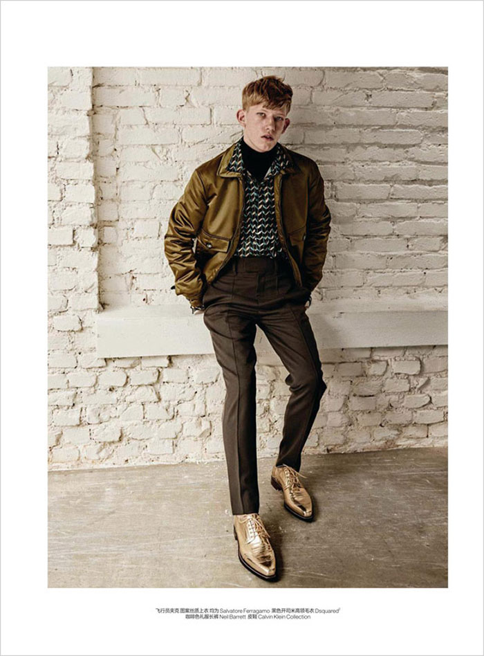 Connor Newall for GQ China Sports Luxe