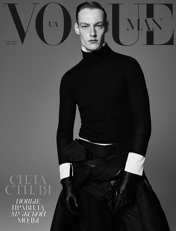 Roberto Sipos for Vogue Man UA - by Nagi Sakai