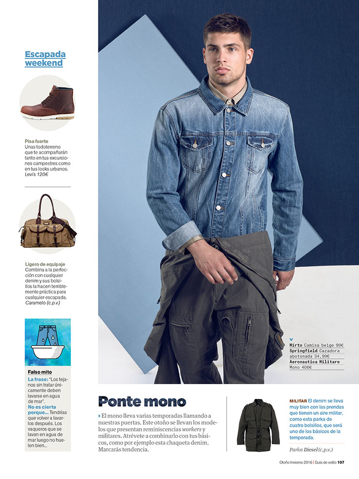 Miroslav Cech for Men's Health Spain by DeMartin Azumendi