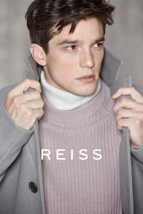 Alexis Petit for Reiss AW16 Campaign by Barry Craske