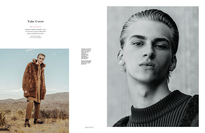 Take Cover. Dominik Sadoch for The Daily Telegraph by Ben Grieme