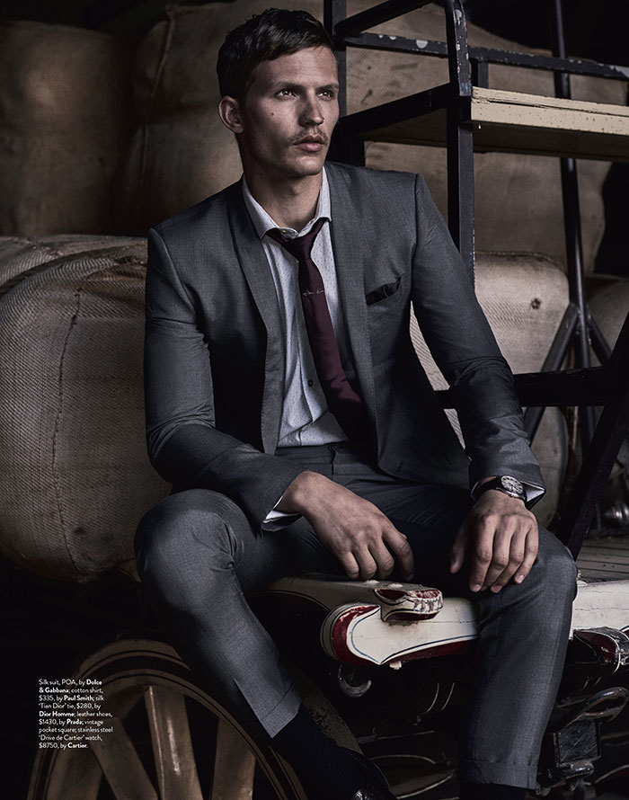 GQ Australia by Jake Terrey Styled Brad Homes