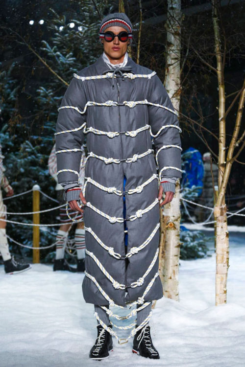Moncler Gamme Bleu Milan Men's Fashion Week 2017