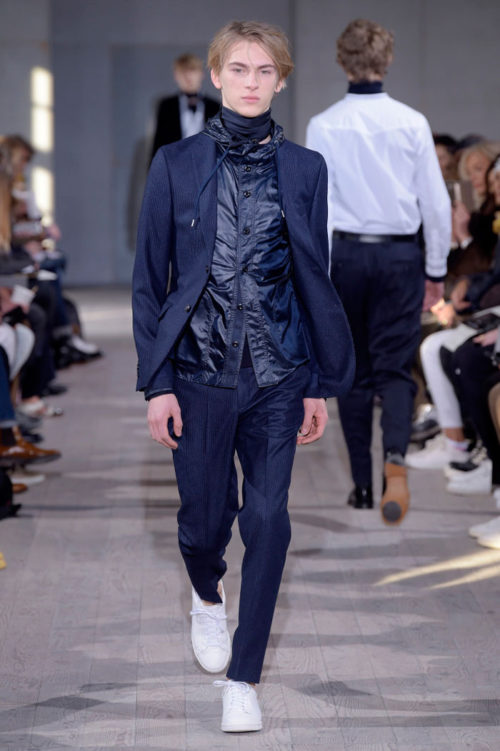 Dominik Sadoch Officine Générale Paris Men's Fashion Week 2017
