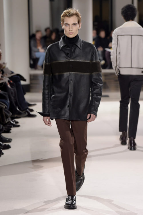 Trevor Drury Hermès Men's Fall 2017