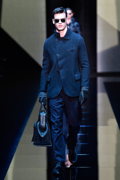 Giorgio Armani Milan Men's Fashion Week 2017
