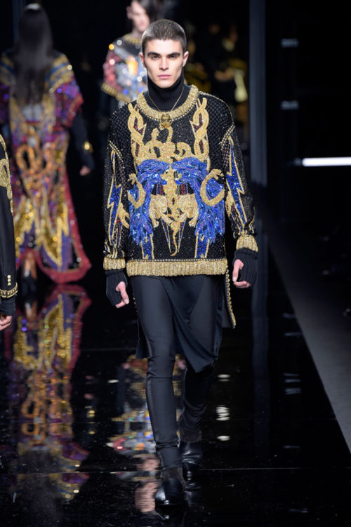 Balmain Paris Men's Fashion Week 2017