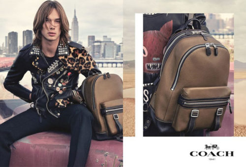 Anders Donatelli Coach SS17 Campaign by Steven Meisel