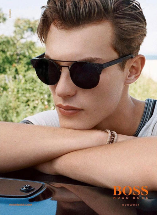 Kit Butler Hugo Boss Orange SS17 Eyewear Campaign