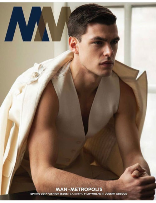 Spring Fashion Issue Man of Metropolis Magazine