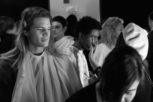 Behind The Scenes Hakan Akkya NYFW Fall 2017 RTW