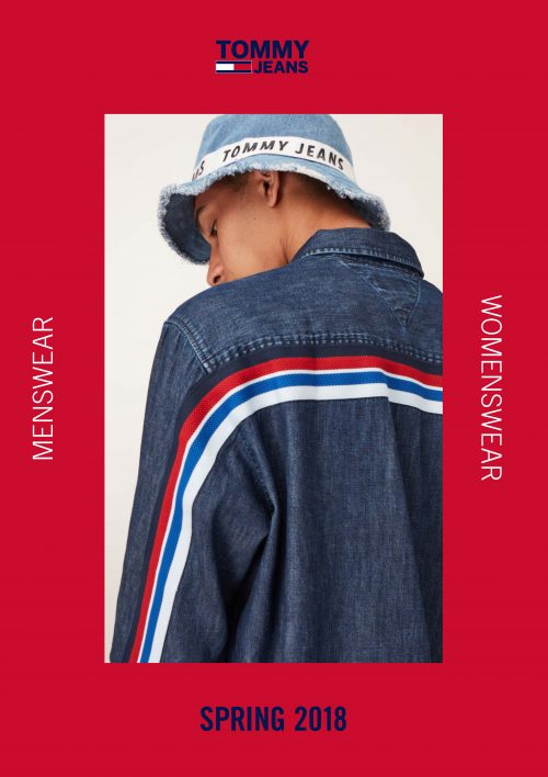 """f39ed8de Jackson Hale for Tommy Hilfiger """"Tommy Jeans"""" New Spring/Summer 2018  Menswear Collection"""